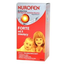 Nurofen dla dzieci Forte