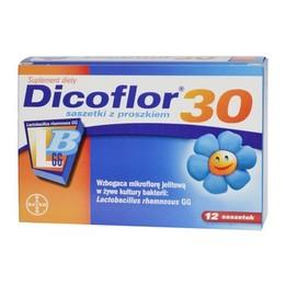 Dicoflor 30 saszetki