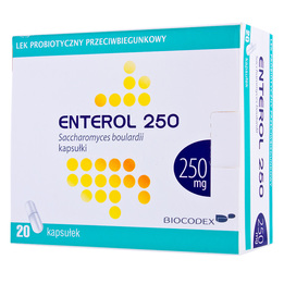 Enterol 250 kapsułki