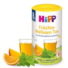Hipp herbatka granulowana owoce melisa