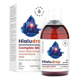 Kwas hialuronowy z chondroityną i MSM Aura Herbals