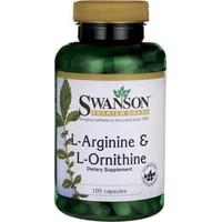 Swanson AjiPure L-Arginina i L-Ornityna