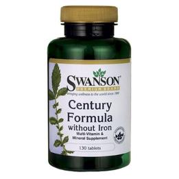 Swanson Century Formula bez żelaza