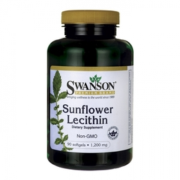 Swanson Sunflower Lecithin lecytyna słonecznikowa