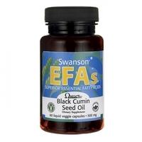 Swanson EFAs Olej z nasion czarnego kminu