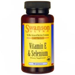 Swanson Witamina E + selen