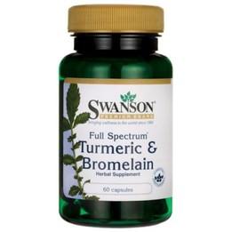 Swanson Full Spectrum Turmeric + Bromelain
