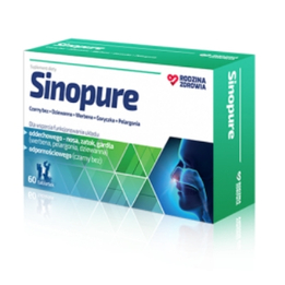 Rodzina Zdrowia Sinopure suplement diety wspomagający zdrowie dróg oddechowych