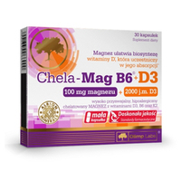 Olimp Chela-Mag B6 + D3 tabletki
