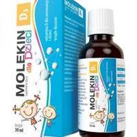 Molekin D3 krople dla dzieci