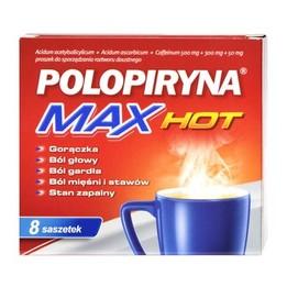 Polopiryna Max Hot saszetki