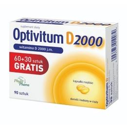 Optivitum D 2000 kapsułki