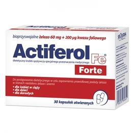 Actiferol Fe Forte kapsułki