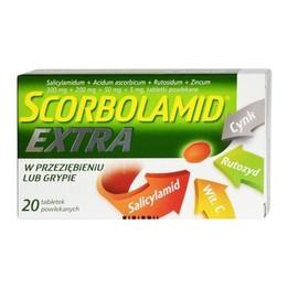 Scorbolamid Extra tabletki