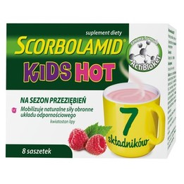 Scorbolamid Kids Hot saszetki