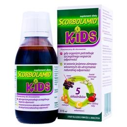 Scorbolamid Kids+ syrop