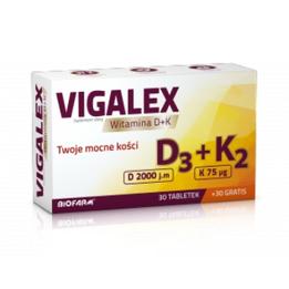 Vigalex D3 + K2 tabletki