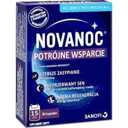 NovaNoc potrójne wsparcie kapsułki