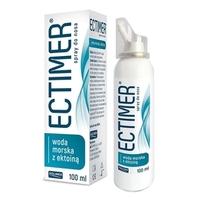 Ectimer spray do nosa z wodą morską i ektoiną