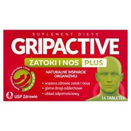 Gripactive Zatoki i Nos Plus tabletki