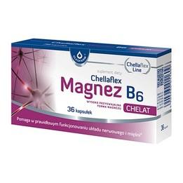 Chellaflex Magnez B6 kapsułki