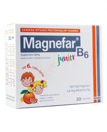 Magnefar B6 Junior saszetki