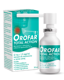 Orofar Total Action aerozol