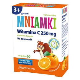 Mniamki Witamina C 250 mg pastylki do ssania