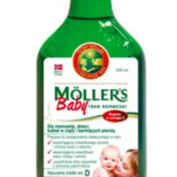 Mollers Baby Tran norweski naturalny