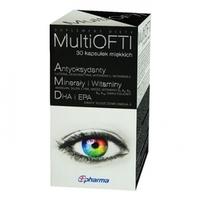 MultiOFTI kapsułki na wzrok i ostrość widzenia