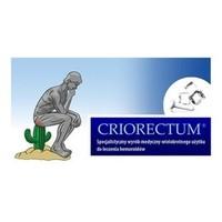 Criorectum wyrób medyczny do leczenia wewnętrznych i zewnętrznych żylaków odbytu