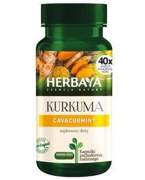 Herbaya Kurkuma Cavacurmin suplement diety i naturalny antyoksydant