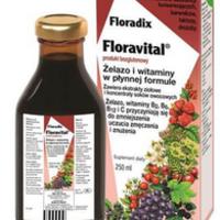 Floradix Floravital produkt bezglutenowy suplement diety