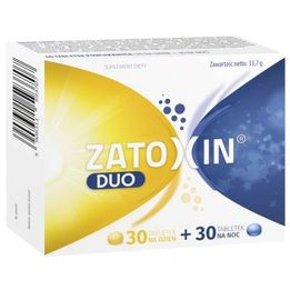 Zatoxin Duo suplement diety dla utrzymania zdrowia