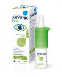 Xedrenio Forte wyrób medyczny na nawilżenie oczu