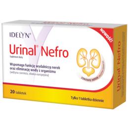 Urinal Nefro tabletki suplement diety wspierający drogi moczowe