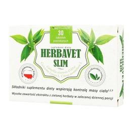 Herbavet Slim tabletki suplement diety na odchudzanie
