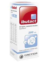Ibutact zawiesina doustna lek przeciwbólowy