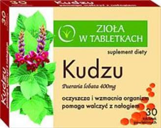 KUDZU - Zioła w tabletkach